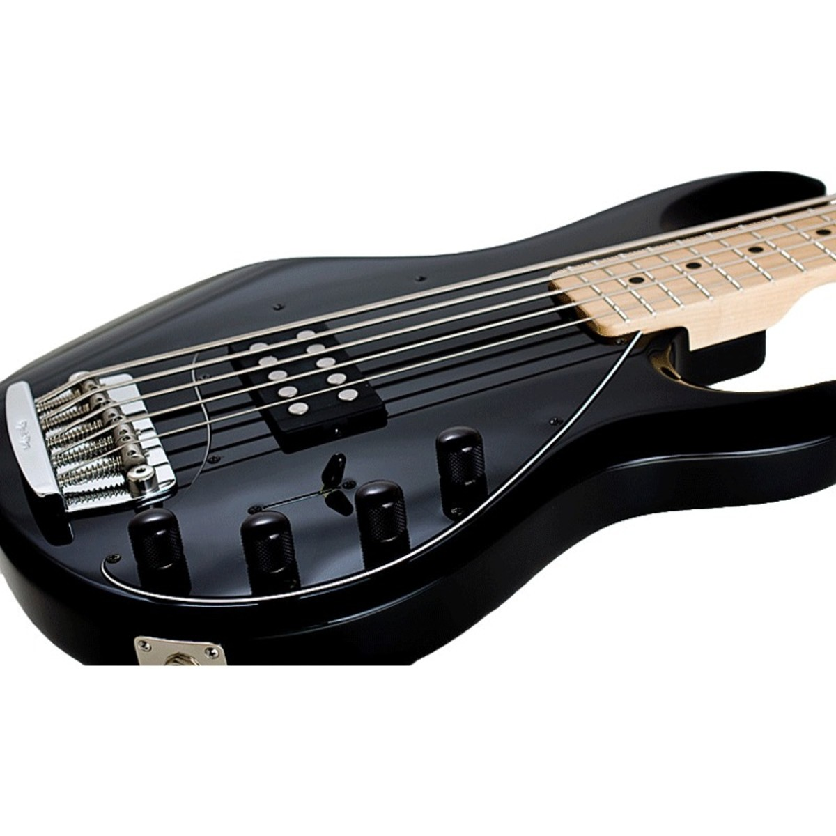 music man stingray 5 bass guitar mn black at. Black Bedroom Furniture Sets. Home Design Ideas