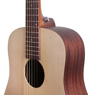 Greg Bennett GD-50 Mini Acoustic Guitar, Natural