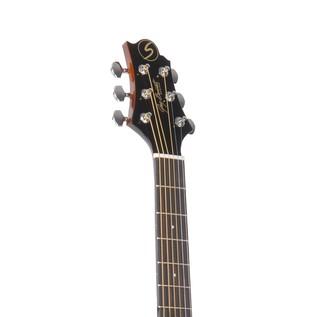 Greg Bennett D-1CE Electro Acoustic Guitar, Mahogany