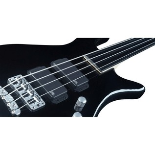 Warwick Rockbass Streamer Standard 4-String Bass, Fretless, Black