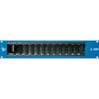 API L200R 12 Slot 200 Series Module Rack