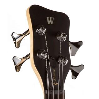 Warwick Rockbass Streamer Standard Double Pickup, Natural Satin