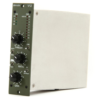 JDK V12 Single Channel Mic Preamp - Side View