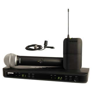 Shure BLX1288UK/CVL Dual Channel Combo Wireless System