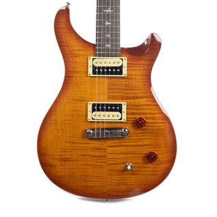 PRS SE Custom 22 Flame Maple Guitar, Vintage Sunburst + PRS Gigbag