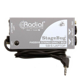 Radial StageBug SB-5 Passive Laptop DI Box
