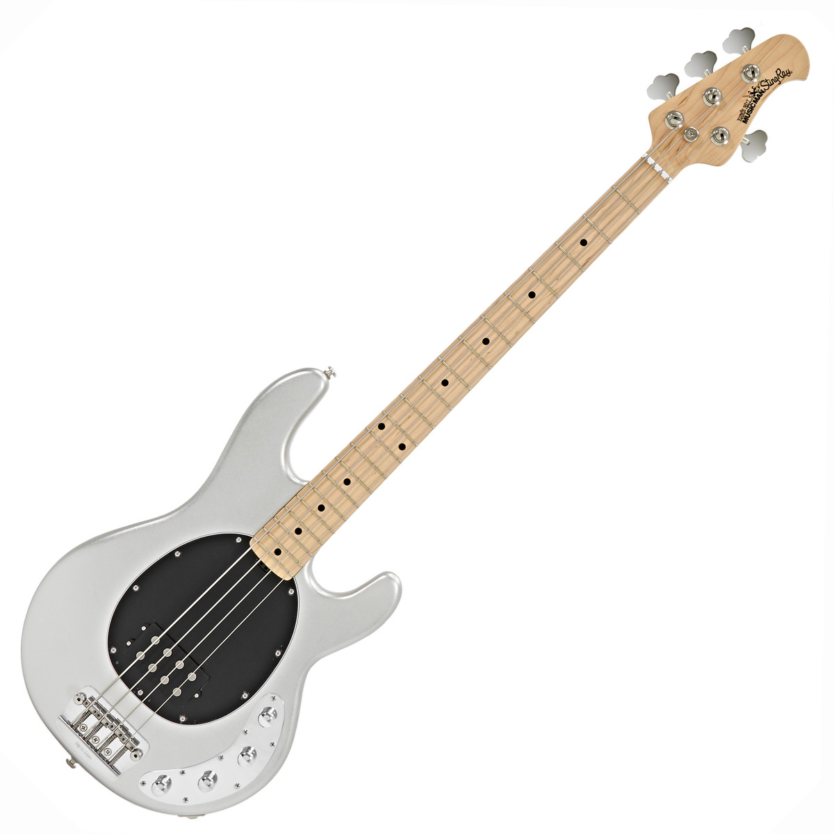 music man stingray 3eq bass guitar mn serling silver at. Black Bedroom Furniture Sets. Home Design Ideas