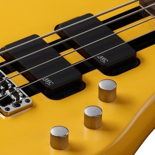 Warwick Rockbass Streamer Standard 4-String Bass, Racing Yellow