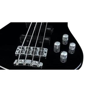 Warwick Rockbass Streamer LX 4-String Bass, Fretless, Black