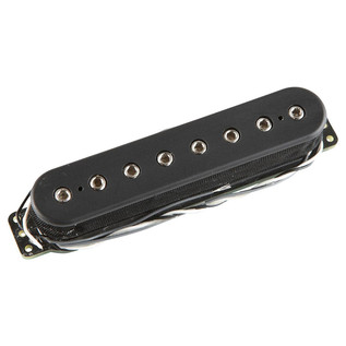 DiMarzio DP810 Ionizer 8 Middle 8 String Single Coil Pickup, Black