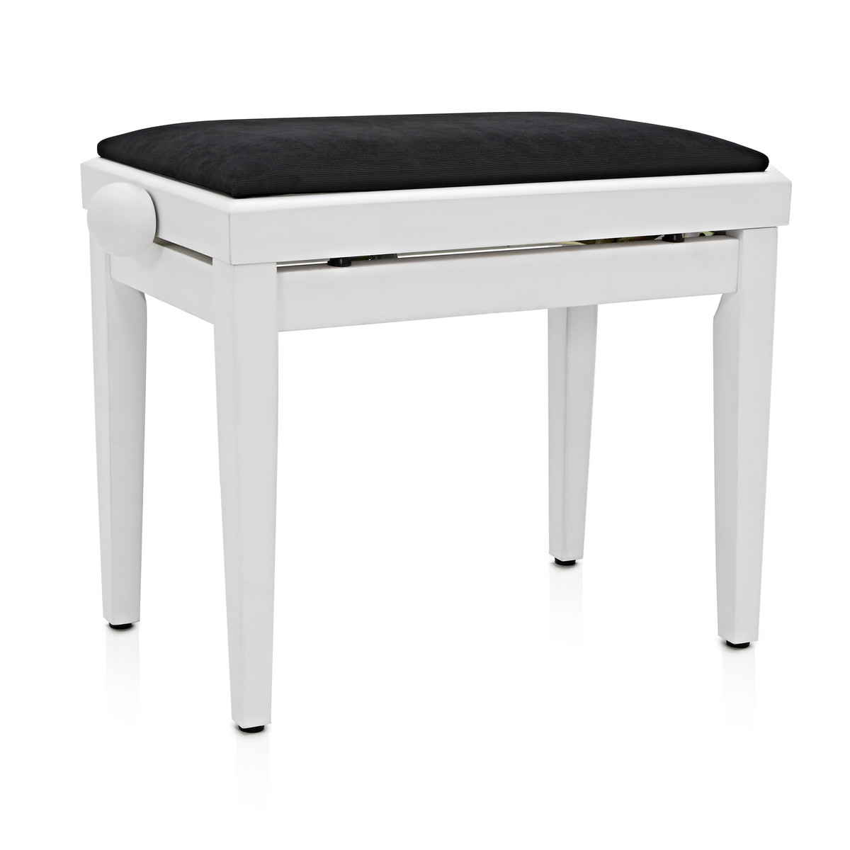 si ge piano r glable par gear4music white ex d mo. Black Bedroom Furniture Sets. Home Design Ideas