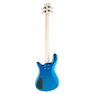Warwick Rockbass Streamer LX 4-String Bass, Fretless, Metallic Blue