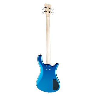 Warwick Rockbass Streamer LX Left Handed 4-String Bass, Metallic Blue