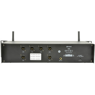 Chord HU6-N 6ch Neckworn UHF System - Rear