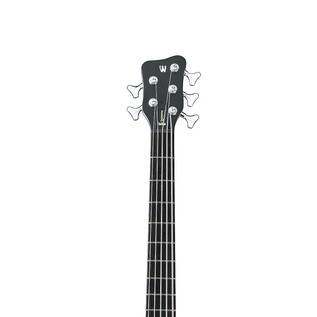 Warwick Rockbass Streamer Standard Left Handed 5 Bass, Ocean Blue