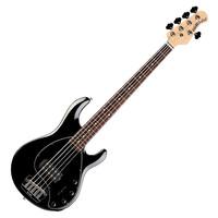 Music Man StingRay-5 Bass Guitar RN Black