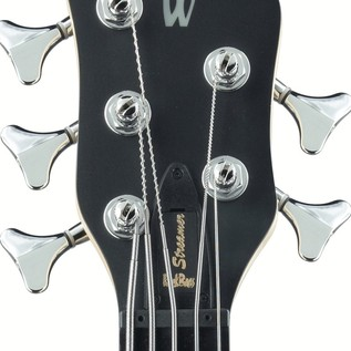 Warwick Rockbass Streamer Standard 5-String Bass, Fretless, Black