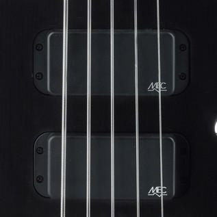 Warwick Rockbass Streamer Standard 5-String Bass, Fretless, Black