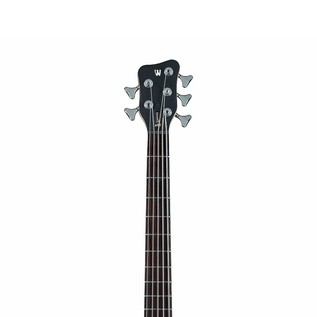 Warwick Rockbass Streamer Standard Left Handed 5-String Bass, Black