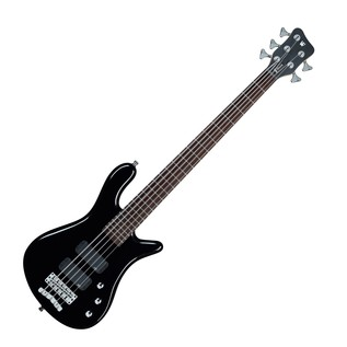 Warwick Rockbass Streamer Standard 5-String Bass, Black High Polish