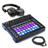 Novation Circuit Groovebox with AKG K518 Headphones