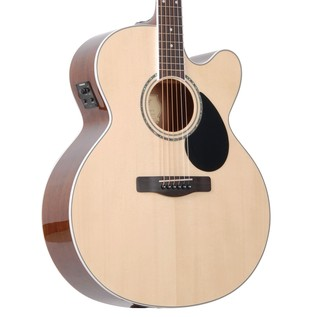 Greg Bennett GJ-100SCE Electro-Acoustic Guitar, Natural