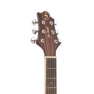 Greg Bennett D-5CE Electro Acoustic Guitar, Natural