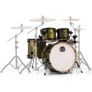 Mapex Armory 5 Piece 20'' Fusion Shell Pack, Mantis Green
