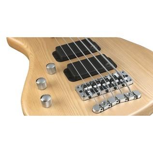 Warwick Rockbass Streamer Standard Left Handed 5-String Bass, Natural