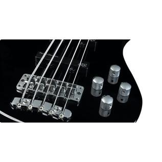 Warwick Rockbass Streamer LX 5-String Bass, Black High Polish