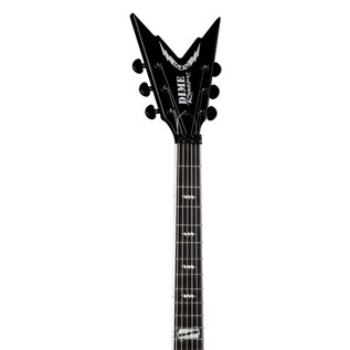 Dean Dime Razorbolt Electric Guitar, Black Red