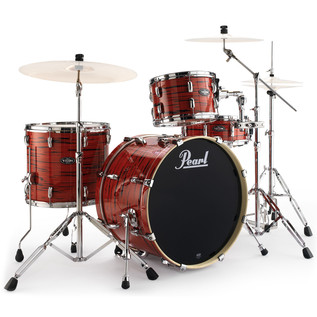Pearl Vision Birch VBA Ltd Edition 22'' Drum Kit, Tiger Red