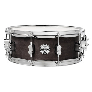 PDP 14x5.5 Maple Shell Snare with Black Wax Finish