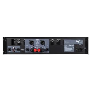 W Audio EPX 300 Amplifier - Rear View