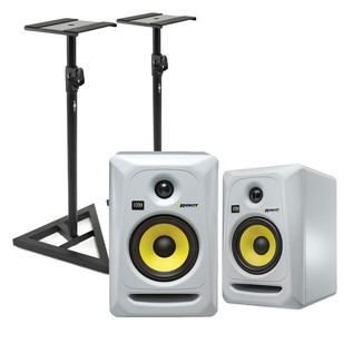 KRK Rokit RP5 G3 Active Monitor, Pair (White)