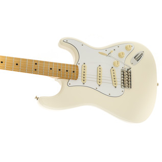 Fender Jimi Hendrix Stratocaster Electric Guitar, Olympic White