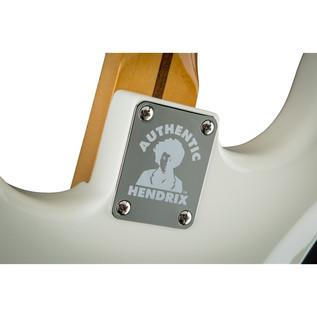 Fender Jimi Hendrix Stratocaster Electric Guitar, Olympic White