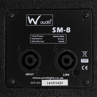 W Audio SM 12 Stage Monitor - 5