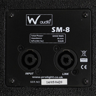 W Audio SM 8 Stage Monitor - 5