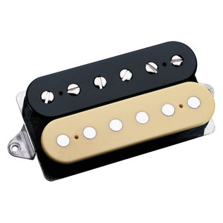 DiMarzio DP100 Super Distortion F Spaced Humbucker, Black/Cream