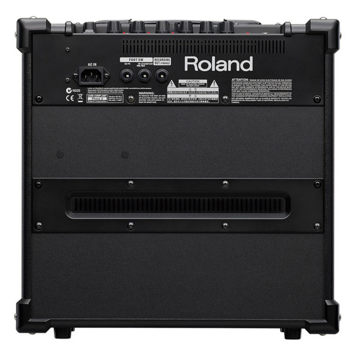 roland cube 40gx guitar amplifier ex demo at