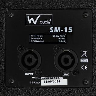 W Audio SM 15 Stage Monitor - 5 5