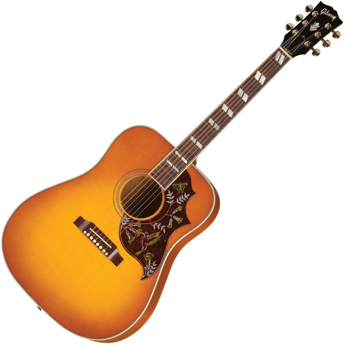 gibson hummingbird guitare lectro acoustique heritage