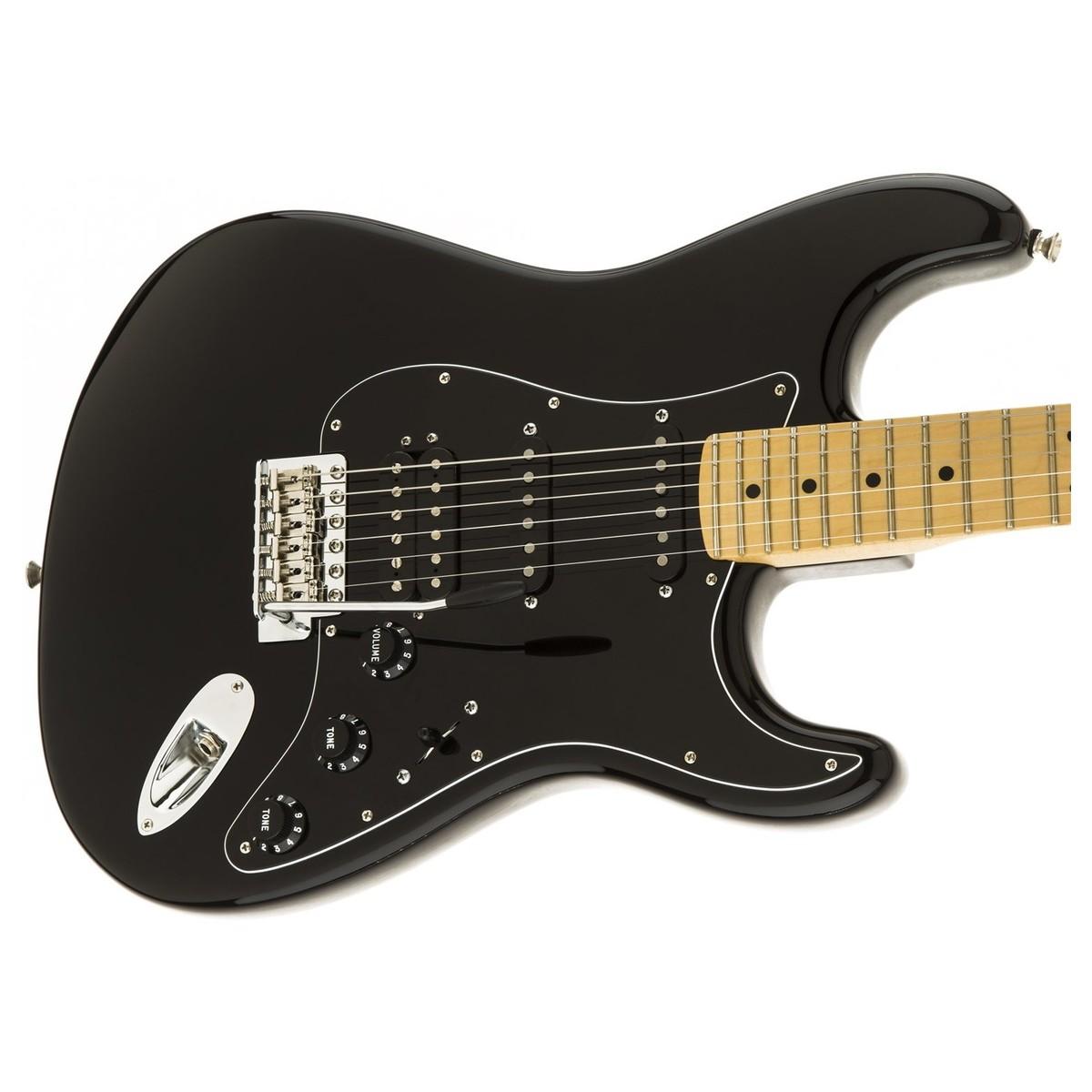 fender american special stratocaster hss black at. Black Bedroom Furniture Sets. Home Design Ideas