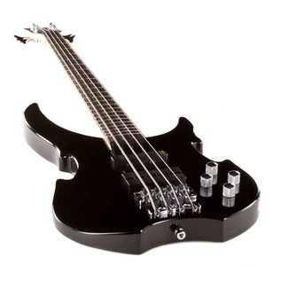 Warwick Rockbass Vampyre 4-String Bass, Black High Polish