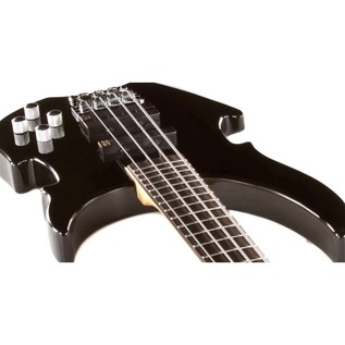 Warwick Rockbass Vampyre 4-String Bass, Black High Polish