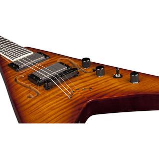 Dean V Dave Mustaine StradiVMNT Electric Guitar, Vintage Burst