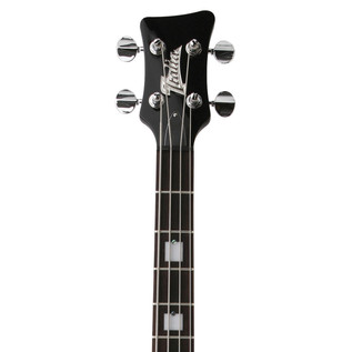 Italia Mondial Classic Bass Guitar, Black with Gig Bag