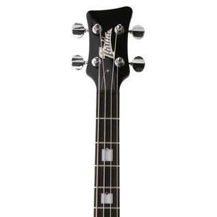 Italia Mondial Classic Bass Guitar, Black with Gig Bag
