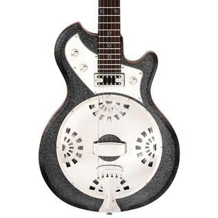 Italia Mondial Sonoro Guitar, Metallic Black with Gig Bag